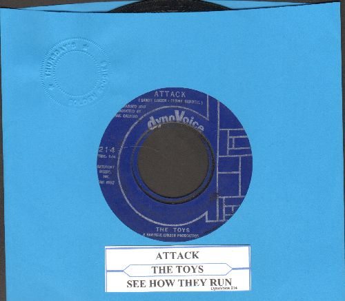 Toys - Attack/See How They Run (with juke box label) - VG7/ - 45 rpm Records