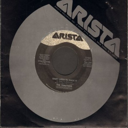 Tractors - Baby Likes To Rock It/Tulsa Shuffle (with Arista company sleeve) - VG7/ - 45 rpm Records