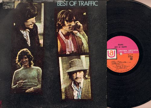 Traffic - Best Of Traffic: Peter Sun, Hole In My Shoe, Medicated Goo, Dear Mr. Fantasy (Vinyl STEREO LP record) (soc) - EX8/VG7 - LP Records