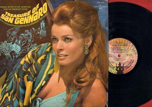 Treasure Of San Gennaro - Treasure Of San Gennaro - Original Motion Picture Soundtrack (Vinyl STEREO LP record) - M10/EX8 - LP Records