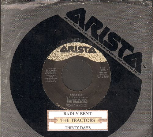 Tractors - Thirty Days/Badly Bent (with juke box label company sleeve) - NM9/ - 45 rpm Records