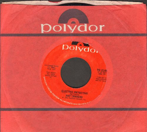 Travers, Pat - My Life Is On The Line/Electric Detective (with Poydor company sleeve) - NM9/ - 45 rpm Records