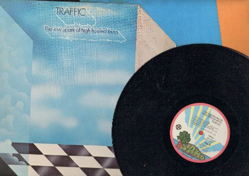 Traffic - The Low Spark Of High Heeles Boys: Hidden Treasure, Rock & Roll Stew, Light Up Or Leave Me Alone, Rainmaker (vinyl STEREO LP record) - NM9/VG7 - LP Records
