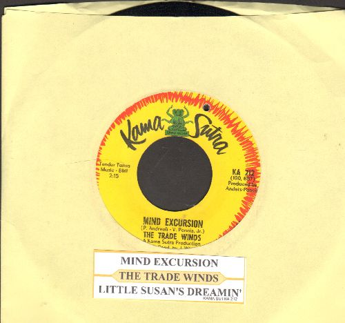 Trade Winds - Mind Excursion/Little Susan's Dreaming (with juke box label) (bb) - EX8/ - 45 rpm Records