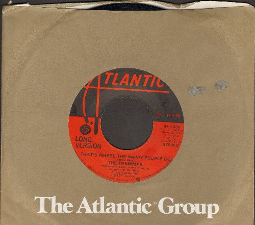 Trammps - That's Where The Happy People Go (LONE and SHORT version with Atlantic company sleeve) - EX8/ - 45 rpm Records