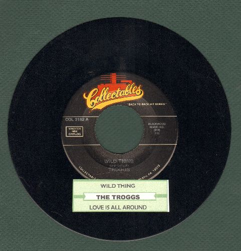 Troggs - Wild Thing/Love Is All Around (double-hit re-issue with juke box label) - EX8/ - 45 rpm Records