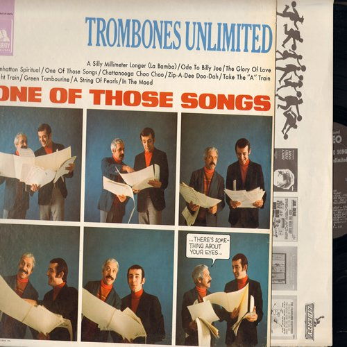 Trombones United - One Of Those Songs: The Glory Of Love, Chattanooga Choo Choo, Zip-A-Dee Doo-Dah, Take The A Train, In The Mood (Vinyl STEREO LP record) - M10/NM9 - LP Records
