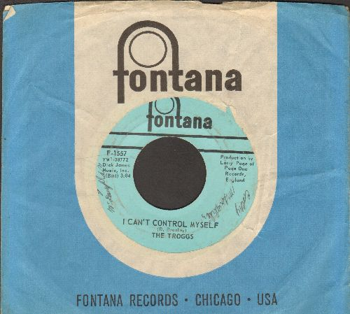 Troggs - I Can't Control Myself/Gonna Make You (with Fontana company sleeve) (minor wol) - EX8/ - 45 rpm Records