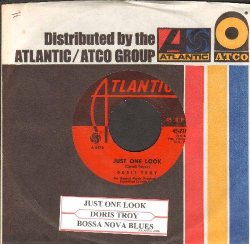 Troy, Doris - Just One Look/Bossa Nova Blues (with juke box label and company sleeve) - VG7/ - 45 rpm Records