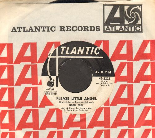 Troy, Doris - Please Little Angel/One More Chance (DJ advance pressing with Atlantic company sleeve) - VG7/ - 45 rpm Records