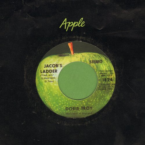 Troy, Doris - Jacob's Ladder/Get Back (MINT condition with vintage Apple company sleeve) - M10/ - 45 rpm Records