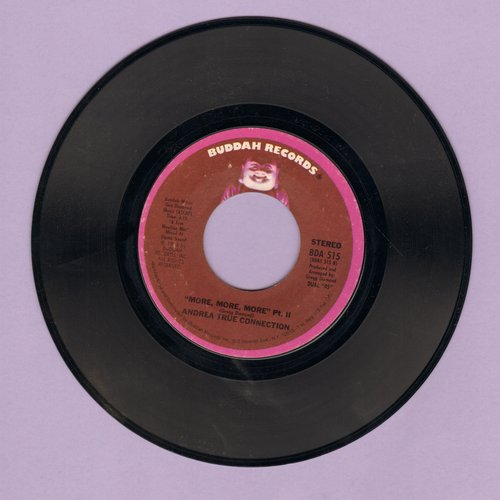 True, Andrea Connection - More, More, More (Parts 1+2 with juke box label) - EX8/ - 45 rpm Records
