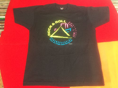 T-Shirt - Commemorative T-Shirt: Cleveland  Rock & Roll Hall Of Fame Groundbreaking June 7, 1993, Black 100% Cotton, Size Adult XL. NEW, never worn! - M10/ - T-Shirt