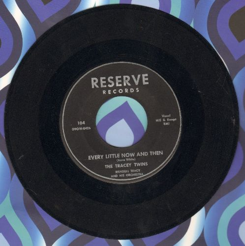 Tracey Twins - Every Little Now And Then/Locked In My Heart - EX8/ - 45 rpm Records