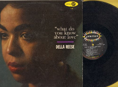 Reese, Della - What Do You Know About Love?: When I Fall In Love, I Got It Bad, I'm Nobody's Baby, I'm Thru With Love (Vinyl MONO LP record) - EX8/EX8 - LP Records