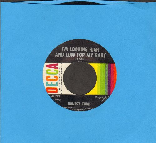 Tubb, Ernest - I'm Looking High And Low For My Baby/Show Her Lots Of Gold - NM9/ - 45 rpm Records