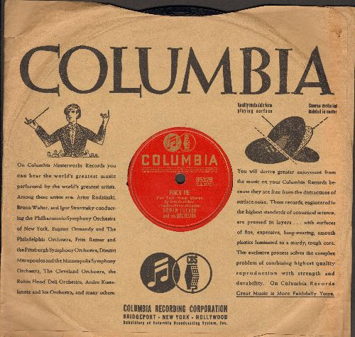 Baker, Bonnie with Orin Tucker & His Orchestra - Pinch Me/Would Ja Mind (10 inch 78 rpm record with Columbia company sleeve) - VG7/ - 78 rpm