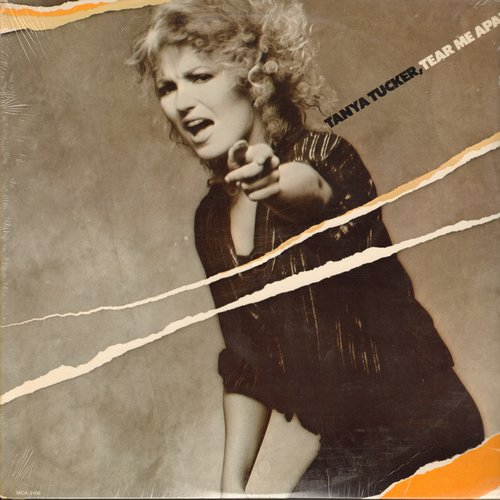 Tucker, Tanya - Tear Me Apart: Better Late Than Never, Lay Back In The Arms Of Someone, San Francisco (Be Sure To Wear Some Flowers In Your Hair) (Vinyl STEREO LP record, SEALED, never opened!) - SEALED/SEALED - LP Records