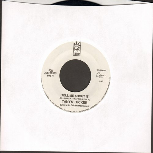 Tucker, Tanya - Tell Me About It/What Do They Know - NM9/ - 45 rpm Records