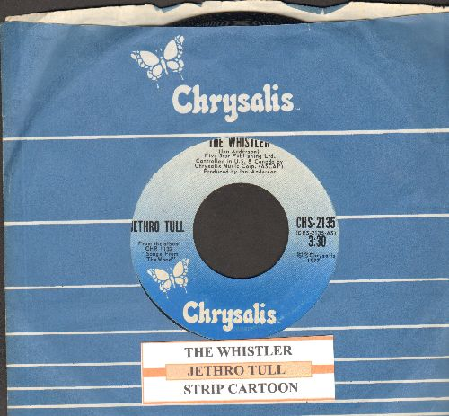 Jethro Tull - The Whislter/Strip Cartoon (with juke box label and company sleeve) - NM9/ - 45 rpm Records