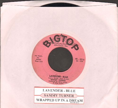 Turner, Sammy - Lavender-Blue/Wrapped Up In A Dream (with juke box label) - VG7/ - 45 rpm Records