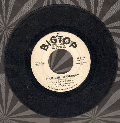 Turner, Sammy - Starlight, Starbright/Let's Donkey On Down (DJ advance pressing) - VG6/ - 45 rpm Records