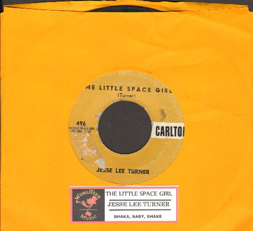 Turner, Jesse Lee - The Little Space Girl (Mr. Earth Man, Will You Marry Me?)/Shake, Baby, Shake  - VG6/ - 45 rpm Records