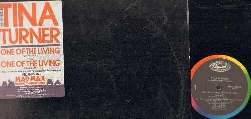 Turner, Tina - One Of The Living (7:35 minutes Special Club Mix/4:10 minutes Radio Mix) (12 inch 33rpm vinyl Maxi Single with original cover, DJ advance pressing) - NM9/EX8 - Maxi Singles