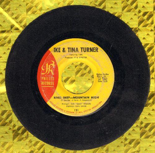 Turner, Ike & Tina - River Deep - Mountain High/I'll Keep You Happy - VG6/ - 45 rpm Records