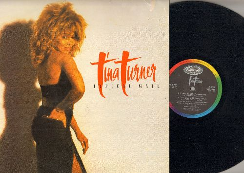 Turner, Tina - Typical Male (7:07 Dance Mix)/(4:14 Single Mix)/(6:20 Dub Mix)/Don't Turn Around (4:16) (12 inch vinyl Maxi Single with picture cover) - EX8/EX8 - Maxi Singles