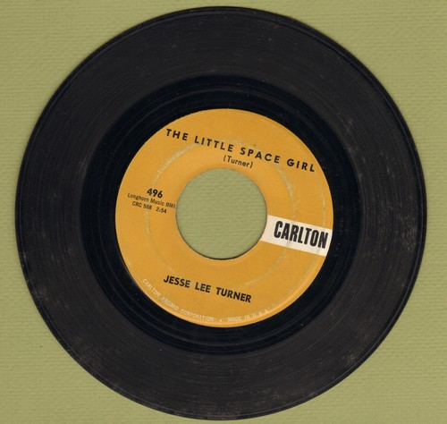 Turner, Jesse Lee - The Little Space Girl (Mr. Earth Man, Will You Marry Me?)/Shake, Baby, Shake  - VG7/ - 45 rpm Records