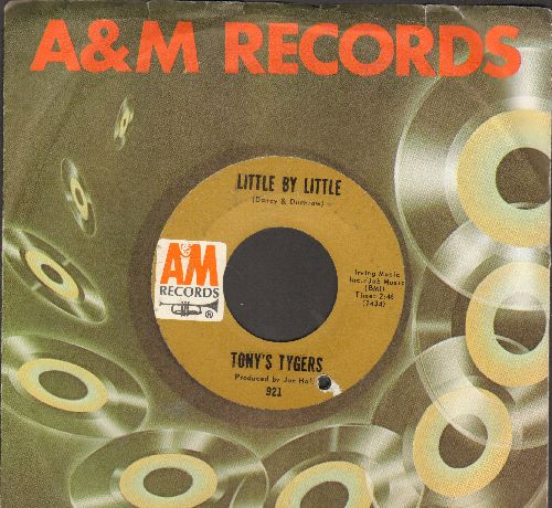 Tony's Tygers - Little By Little/Days And Nights (PSYCHEDELIC two-sider!) (with A&M company sleeve, bb) - EX8/ - 45 rpm Records