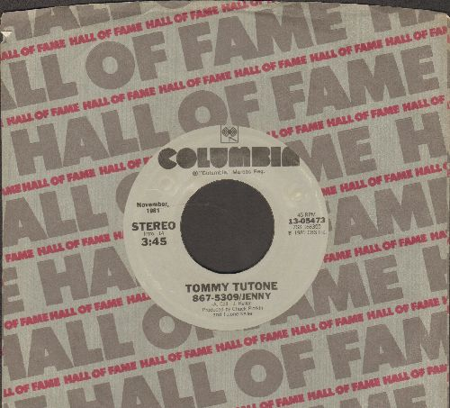 Tutone, Tommy - 867-5309/Jenny/Not Say Goodbye (re-issue with Columbia company sleeve) - NM9/ - 45 rpm Records