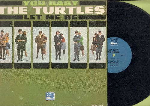 Turtles - You Baby: Let Me Be, Flyin' High, Just A Room, Down In Suburbia, Almost There (vinyl MONO LP record) - EX8/VG7 - LP Records