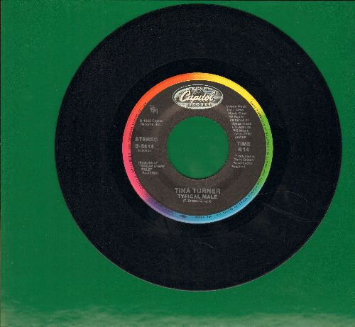 Turner, Tina - Typical Male/Don't Turn Around  - VG7/ - 45 rpm Records