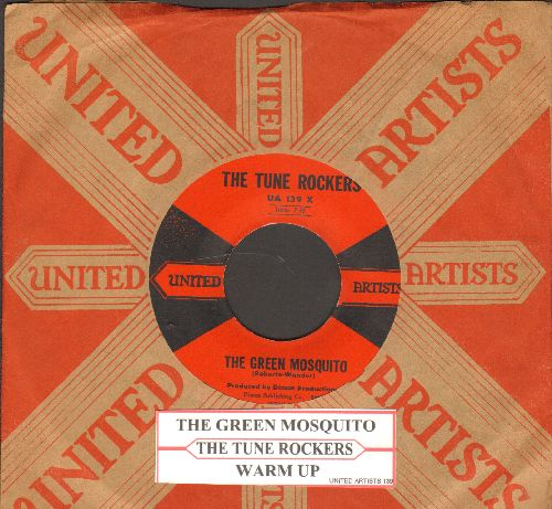 Tune Rockers - The Green Mosquito/Warm Up (with RARE vintage United Artists company sleeve and juke box label) - NM9/ - 45 rpm Records