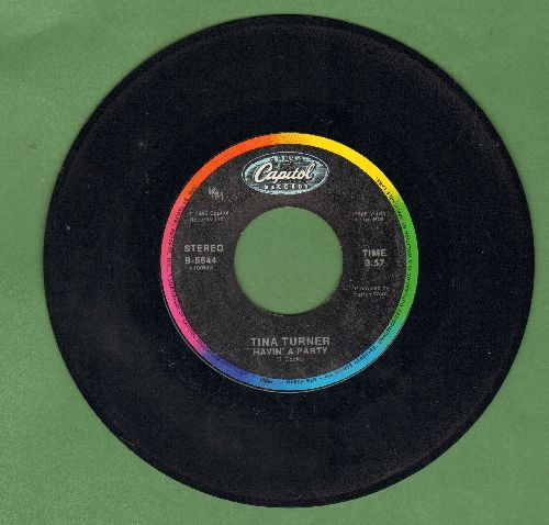 Turner, Tina - Havin' A Party/Two People  - NM9/ - 45 rpm Records
