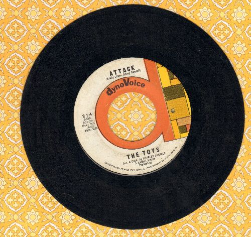 Toys - Attack/See How They Run (bb) - EX8/ - 45 rpm Records