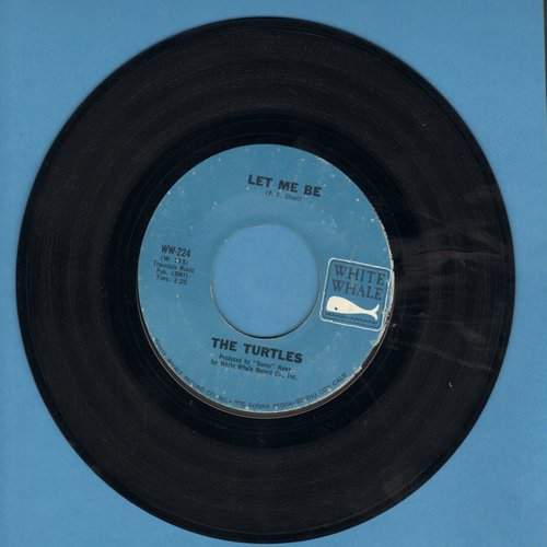 Turtles - Let Me Be/Your Maw Said You Cried  - NM9/ - 45 rpm Records