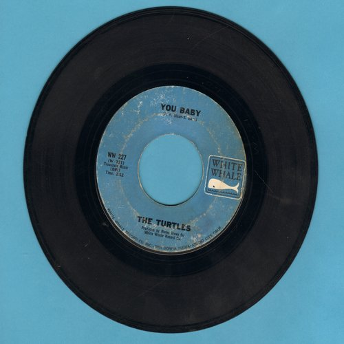 Turtles - She'd Rather Be With Me/The Walking Song - EX8/ - 45 rpm Records