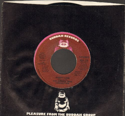 True, Andrea Connection - Party Line/Call Me (with Buddah company sleeve) - M10/ - 45 rpm Records