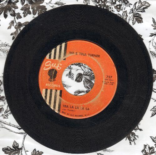 Turner, Ike & Tina - Tra La La La La/Puppy Love - VG7/ - 45 rpm Records