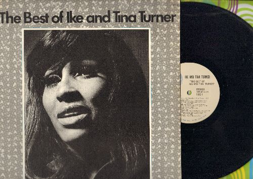 Turner, Ike & Tina - The Best Of: Bold Sou Sister, I Know (You Don't Love Me No More), I Smell Trouble, Rock Me Baby (vinyl STEREO LP record) - NM9/NM9 - LP Records