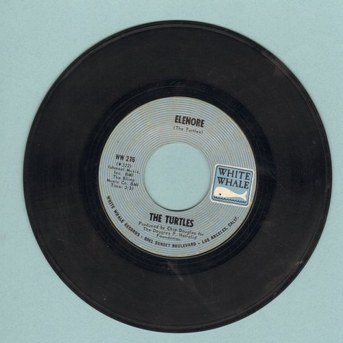 Turtles - Elenore (Gee, I Think You're Swell)/Surfer Dan  - VG7/ - 45 rpm Records