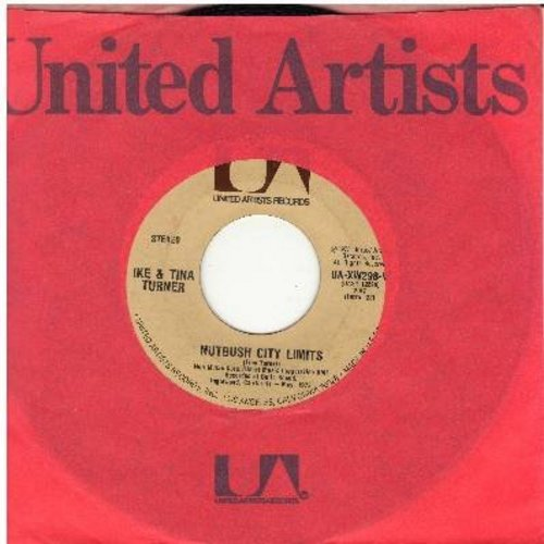 Turner, Ike & Tina - Nutbush City Limits/Help Him (1973 first issue with company sleeve) - NM9/ - 45 rpm Records