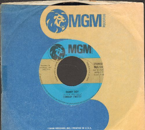 Twitty, Conway - Mona Lisa/Danny Boy (double-hit re-issue with MGM company sleeve) - EX8/ - 45 rpm Records