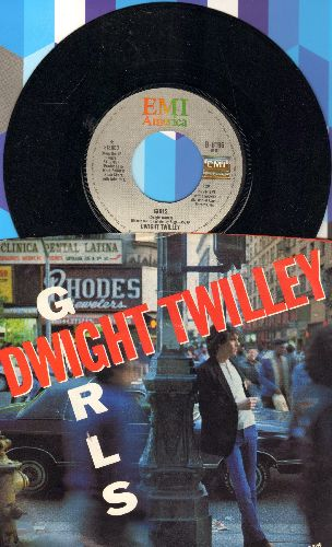 Twilley, Dwight - Girls/To Get To You (with picture sleeve) - NM9/EX8 - 45 rpm Records