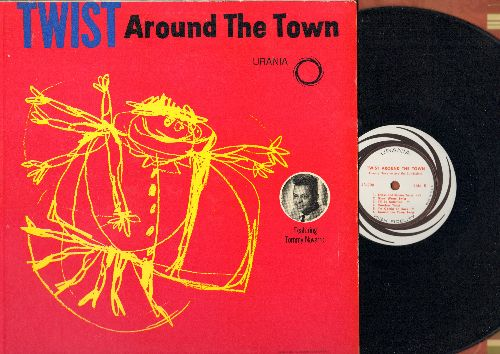 Navarro, Tommy & The Sundialers - Twist Around The Town: Indian Twist, Summertime Twist, Casey Twist, Glow Worm Twist (Vinyl MONO LP record) - NM9/NM9 - LP Records