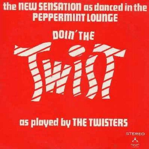 Twisters - Doin' The Twist: Twister's Blues, Shortnin' Bread, Take Me Out To The Ball Game, Don't Fence Me In, You Are My Sunshine, Polly Wolly Doodle All Day (Vinyl STEREO LP record) - NM9/VG7 - LP Records