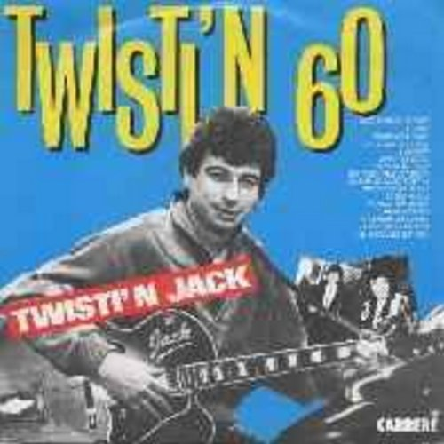 Twistin' Jack - Twistin' 60 (live recording of 1960s Twist Songs medley, sung in French by original French artist, both sides featuring total of 14 samplings of famous French Oldies, French Pressing with picture sleeve) - M10/NM9 - 45 rpm Records